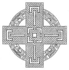 15 images of celtic cross mandala coloring pages celtic cross