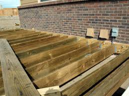 How To Make A Wooden Patio How To Build A Composite Deck How Tos Diy