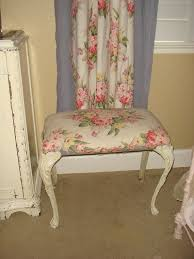 Shabby Chic Vanity Chair 10 Best Vanity Stool Or Bench Images On Pinterest Stools