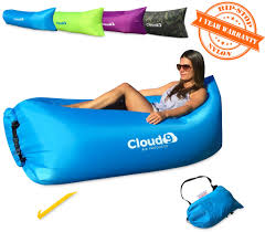 cloud 9 air products tm premium inflatable lounger deluxe