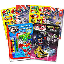 transformers rescue bots party supplies transformers rescue bots coloring and activity book