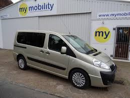 mpv van used 2014 peugeot expert tepee wheelchair scooter accessible winch