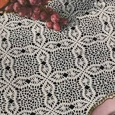 Beaded Table Linens - 18 easy crochet lace tablecloth patterns guide patterns