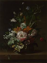 Flowers In A Vase Images Rachel Ruysch Flowers In A Vase Ng6425 National Gallery London
