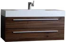 buy 39 25 inch contemporary bathroom vanity walnut tn t1000 wn on