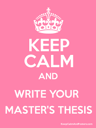 masters dissertation posters 2017 writing your master s thesis creating a bibliography and writing
