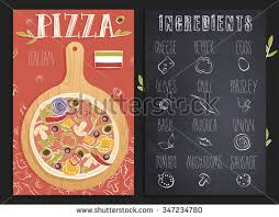 pizza chalkboard stock images royalty free images u0026 vectors