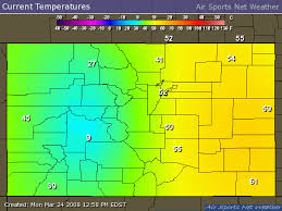 Colorado Temperature Map by 15 1 Volume And Average Height