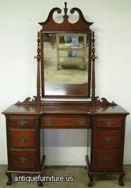 Vintage Drexel Bedroom Furniture by Antique Drexel Mahogany Vanity At Antique Furniture Us