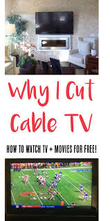 cutting cable tv how to watch tv for free the frugal girls