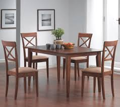 coaster mix and match walnut leg dining table 101771