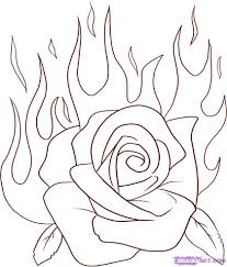 drawing of a rose free download clip art free clip art on