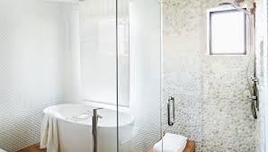 shower pebble floor amazing pebble shower floor 1 mln bathroom