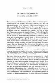 writing an abstract for a paper the stoic doctrine of eternal recurrence springer inside