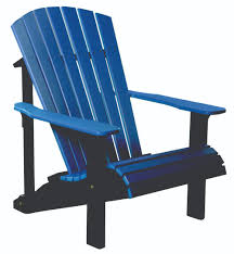 Small Beach Chair Luxcraft Poly Deluxe Adirondack Chair Swingsets Luxcraft Poly