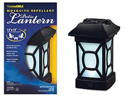 Patio Latern Thermacell Mosquito Patio And Camping Lanterns