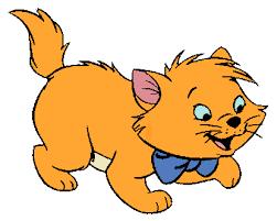 kitten clipart aristocats pencil color kitten clipart
