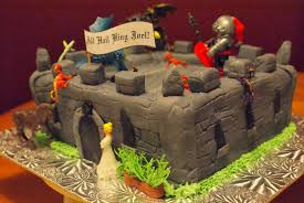 Halloween Castle Cake by Photo Files U2013 Birdhouse Diaries