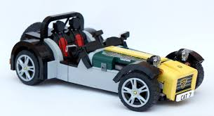 lego sports car the caterham super seven gets a lego version autoevolution
