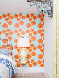 Orange And Blue Shower Curtain Orange Color Palettes Orange Color Schemes Hgtv