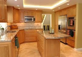 Light Wood Kitchen Cabinets Cherry Kitchen Cabinet Design Ideas