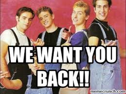 Nsync Meme - want you back