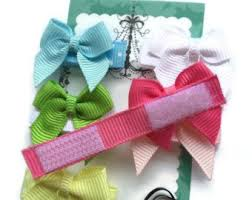 hair bows for velcro hair bow etsy