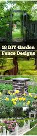 Types Of Fencing For Gardens - 18 different types of garden fences garden fencing gardens and