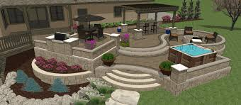 Outdoor Patio Designs Backyard Patio Design Ideas And Concrete On Budget Trends Awesome