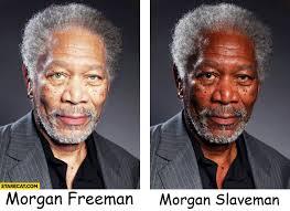 Morgan Freeman Memes - morgan freeman morgan slaveman skin color starecat com