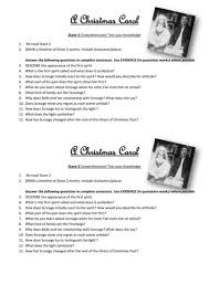 a christmas carol stave 2 comprehension test your knowledge