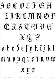 tribal fonts for ideas