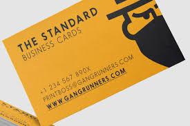Standard Business Card Format Gr