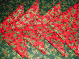 Christmas Table Cloths by Butterflies And Hurricanes Christmas Tablecloth And Napkins