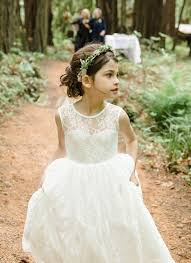flower girl accessories cheap ivory lace wedding flower girl dresses a line v