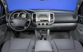 2003 Toyota Tacoma Interior Used 2011 Toyota Tacoma For Sale Pricing U0026 Features Edmunds