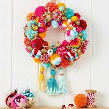 celebrate fun christmas wreath ideas for a colourful home
