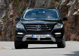 mercedes m suv mercedes reports increasing demand for the m class suv