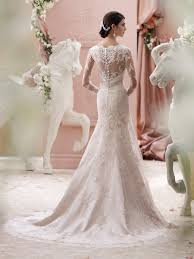 wedding dress lace back and sleeves martin thornburg for mon cheri 115240 finley bridal gown