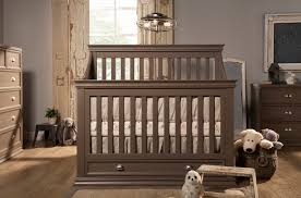 Convertible Cribs With Storage Rustic Gray Baby Crib With Drawer Underneath Decofurnish