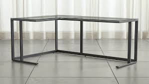 Glass Corner Desks Computer Table Malta Thesecretconsul Intended For Amazing House