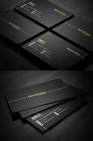 Calling Business Cards 30 Outstanding Black Business Cards