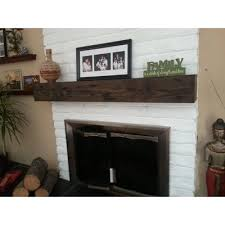 Fireplace Mantel Shelves Designs by Midwood Designs Rustic Fireplace Mantel Shelf U0026 Reviews Wayfair