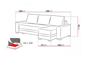 canap 240 cm canap angle 200 cm bora canap duangle gauche fixe places tissu gris
