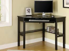 Black Corner Computer Desks For Home Corner Desk Black