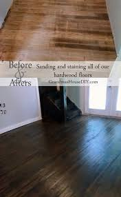 Sealing Laminate Flooring Sand Stain And Seal All Of Our Hardwood Floors