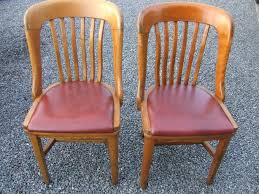 krug furniture kitchener vintage h krug solid oak chairs with leather seat saanich