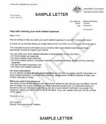 ato work expenses letter sent to 300 000 australians