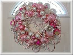pink christmas decorating ideas christmas wreath for my baby