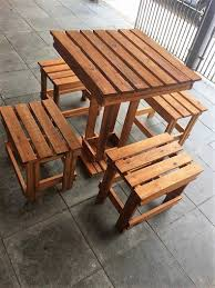 Patio Furniture Made From Wood Pallets by Used Pallet Wood Upgrading Ideas Wood Pallets Pallets And Ranges